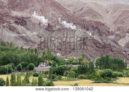 Basgo Buddhist Monastery Leh - Ladakh Jammu and Kashmir India