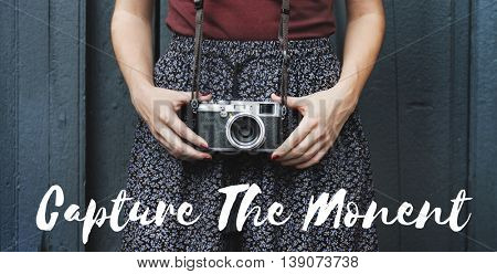 Capture Moments Life Camera Photograph Picture Concept