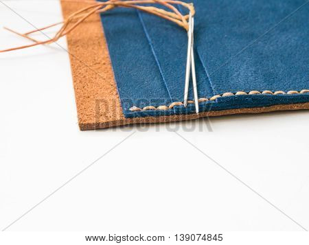 How To Make Hand Made Leather Man Wallet
