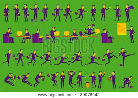 Business Solution. Business Concept Illustration Vector