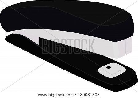Vector image office stapler, isolated on white
