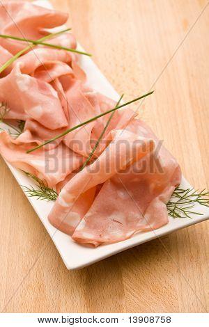 Mortadella Sausage