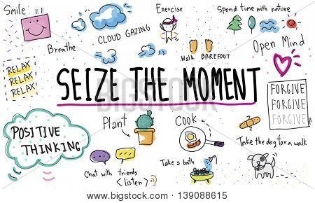 Mindfulness Optimism Relax Harmony Concept