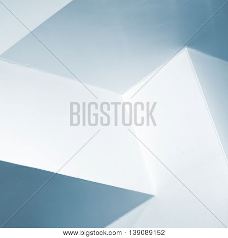Abstract Architecture Background, White Interior