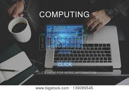 Computer Online Technology Innovate Ideas Concept