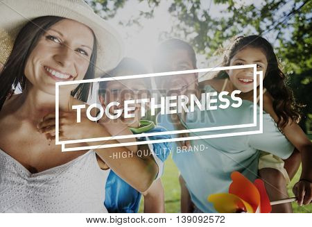 Together Togetherness Collaboration Team Unity Concept