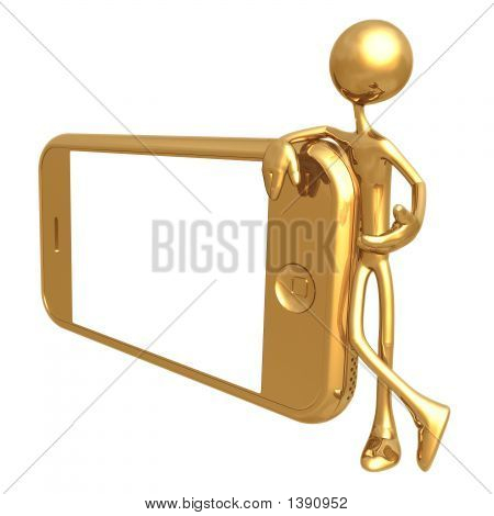Presenting A Touch Screen Cell Phone