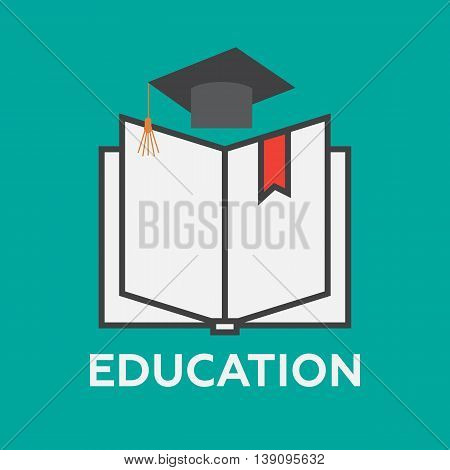 Education and knowledge concept vector eps 10