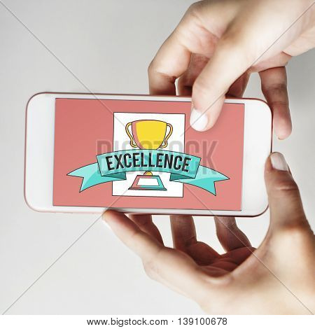Excellence Mobile Device Screen Concept