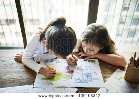 Friend Friends Friendship Girl Togetherness Concept