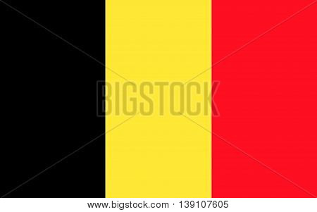 An illustration of the flag of Belgium