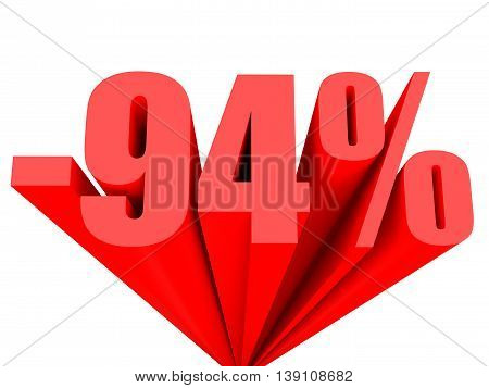 Discount 94 Percent Off Sale.