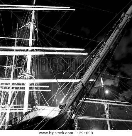 Clipper Ship, South Sea Seaport, New York