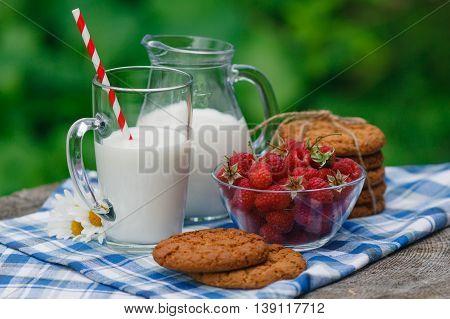 Вelicious And Healthy Breakfast In The Garden