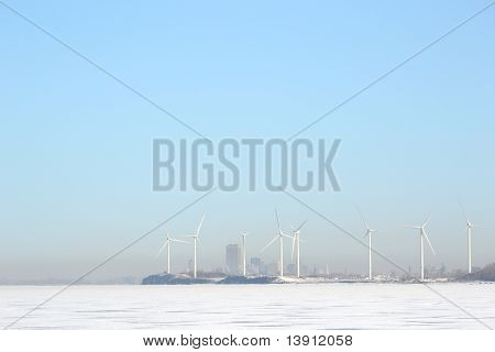 Windmills Of Buffalo New York