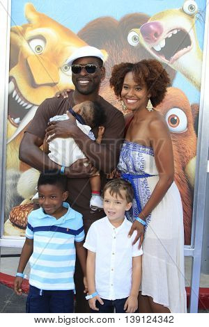 LOS ANGELES - JUL 17:  Sterling K Brown at the 'Ice Age: Collision Course' at the 20th Century Fox Lot on July 17, 2016 in Los Angeles, CA