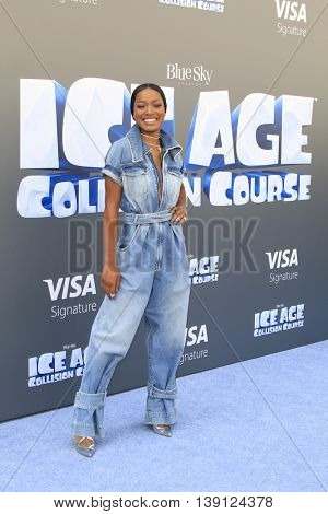 LOS ANGELES - JUL 17:  Keke Palmer at the 'Ice Age: Collision Course' at the 20th Century Fox Lot on July 17, 2016 in Los Angeles, CA