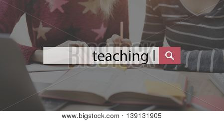 Teaching Training Coaching Education Concept