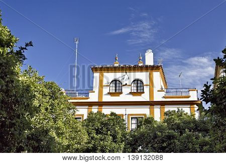 Beautiful house in the Jewish Quarter in Seville Spain