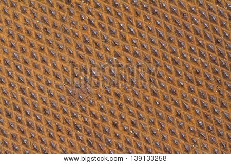 rusted red diamond plate grunge texture map