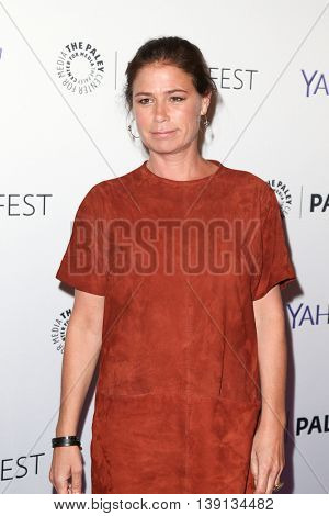 NEW YORK-OCT 12: Maura Tierney attends 'The Affair' screening at PaleyFest New York 2015 at The Paley Center for Media on October 12, 2015 in New York City.