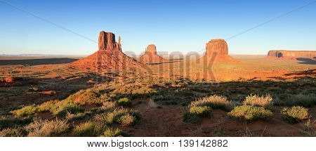 Monument Valley Sunset, Arizona - Utah, USA