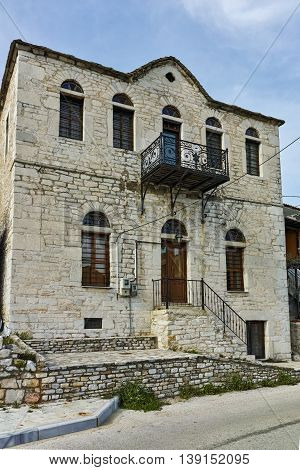 Stone house in village of Theologos,Thassos island, East Macedonia and Thrace, Greece