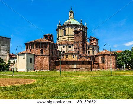 San Lorenzo Church, Milan Hdr