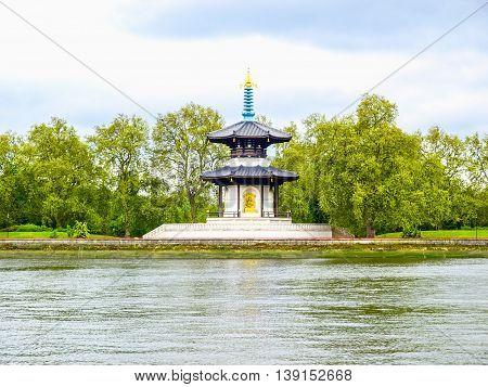 Peace Pagoda, London Hdr