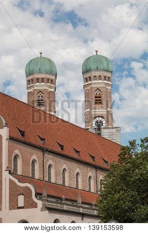 Frauenkirche Munich, View From Bottom Up