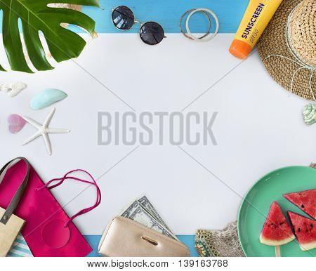 Summer Vacation Holiday Nature Concept