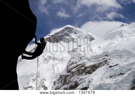 Mt Everest West Ridge
