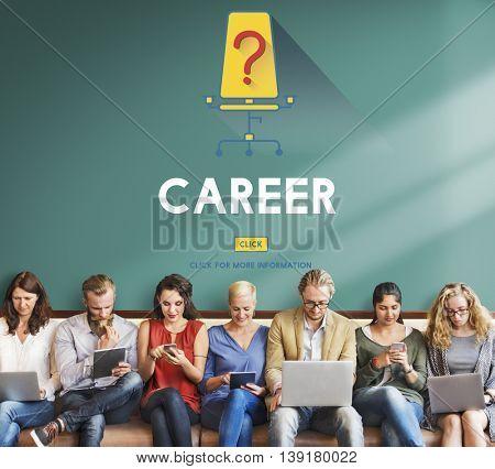Jobs Career Hiring Employment Hiring Concept