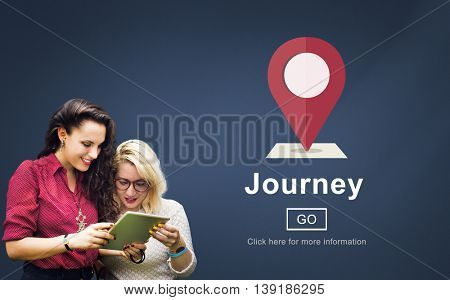Journey Exploration Holiday Road Trip Vacation Concept