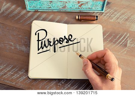 Handwritten Text Purpose