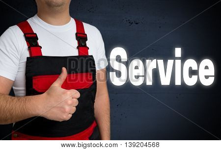 service is shown by craftsman concept background picture