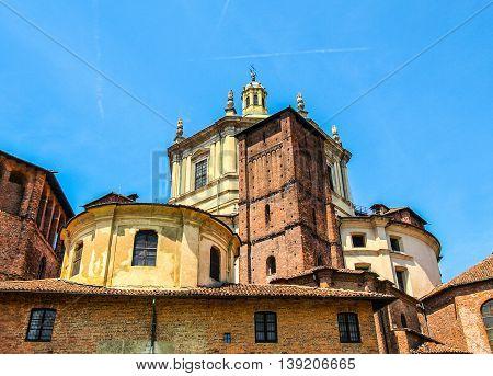 Sant Eustorgio Church, Milan Hdr
