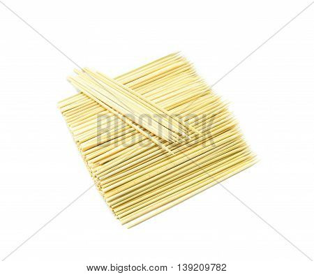 Kitchen utensils,  Pile of bamboo Skewers, wooden stick