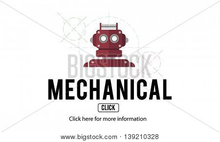 Mechanical Engineering Industrial Machine Concept