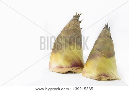 Bamboo shoot is raw material for cooking