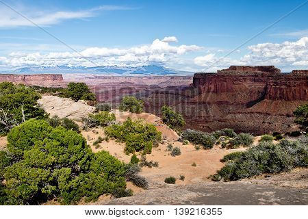 Canyonlands National Park in Utah in USA