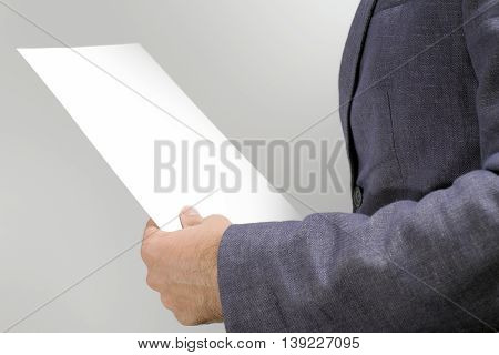 Lawyer Reading Legal Contract Agreement
