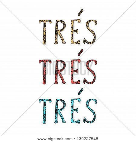French Quote. Vector Illustration.