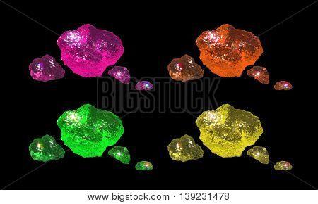 Small Crystals Color