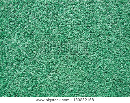 Green Artifical Grass in Kids Play ground