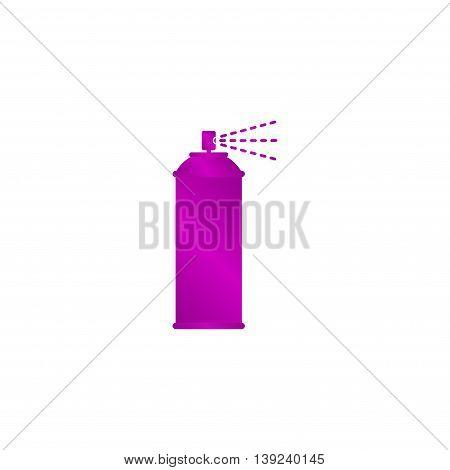 Spray Icon. Vector Concept Illustration For Design