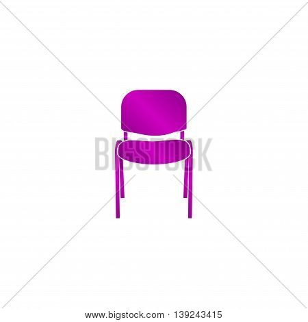 Chair Icon. Vector Concept Illustration For Design