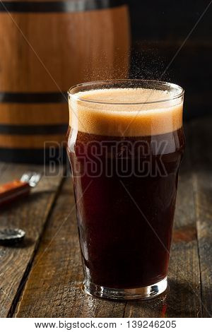 Refreshing Cold Alcoholic Hard Root Beer
