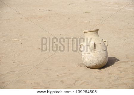 Old berber vase pottery from the Berbers Morocco