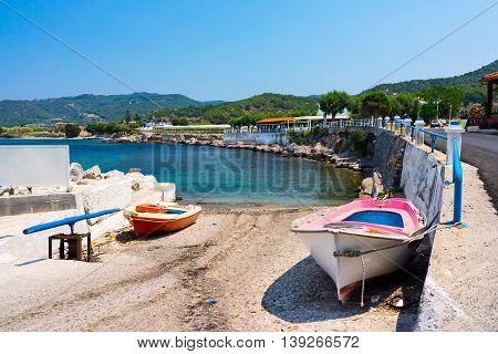 Kamiros Skala Rhodes Greece